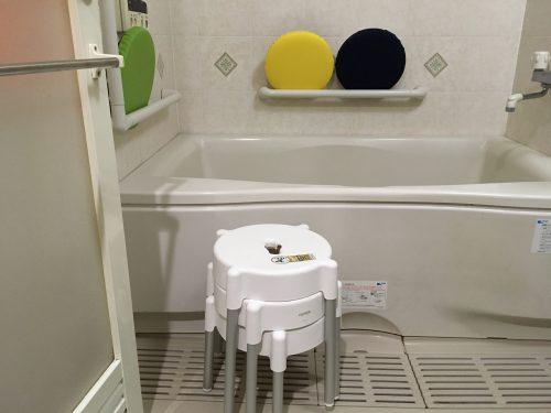 おしりにやさしい風呂いす。バスチェア。